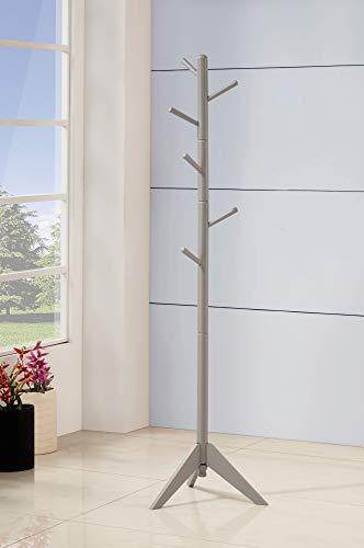 Benzara BM159260 Coat Rack One Size Gray