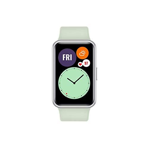 """HUAWEI Watch FIT – Smartwatch con Cuerpo de Metal, Pantalla AMOLED de 1,64"""", hasta 10 días de batería, 96 Modos de…"""