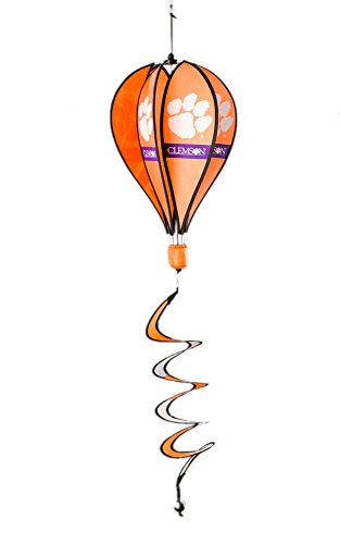 NCAA Clemson Tigers Hot Air Balloon Spinner Novelty 11 x 11in