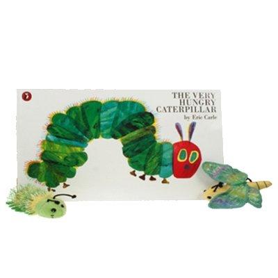 Die kleine Raupe Nimmersatt Buch mit Fingerpuppen