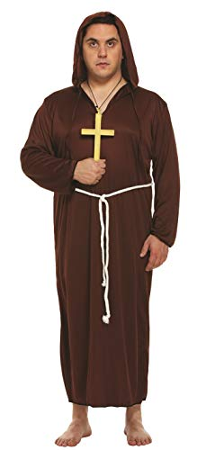 Mens Religious Monk Friar Tuck Medieval Vicars
