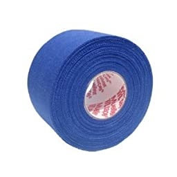 M-Tape Colored Athletic Tape - Blue, 6 Rolls