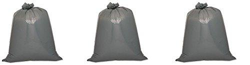 Genuine Joe GJO70343 Maximum Strength Low-Density Resin Trash Can Liner, 55 gallon Capacity, 56'' Length x 39'' Width x 1.55 mil Thickness, Black (Case of 50) (3-(Pack))