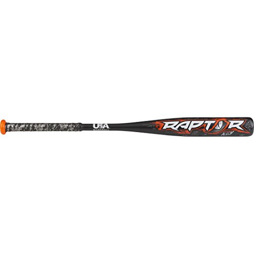 Rawlings 2019 Raptor USA Youth Baseball Bat, 27 inch (-10)