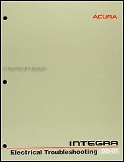 1985 merkur xr4ti electrical \u0026 vacuum troubleshooting manual1998 2001 acura integra electrical troubleshooting manual original