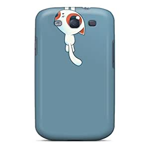 Premium Tpu Hang On Kitty Cover Skin For Galaxy S3