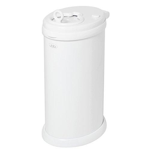 ubbi-steel-diaper-pail-white
