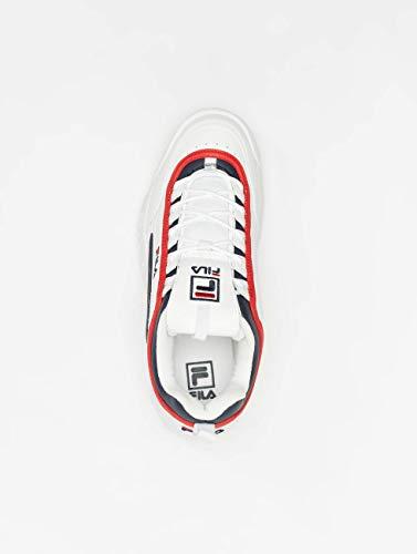 Navy Uomo Mod Bianco Scarpa White Red 1010575 Fila 4qgXTfO
