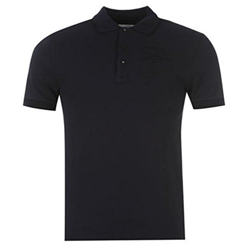 Versace Herren Poloshirt Blau Navy One Size