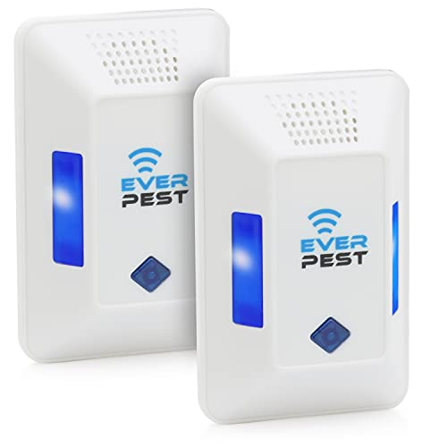 Ultrasonic Pest Repeller Plug in - Electronic Insect Control Defender 2-Pack - Roach Bed Bug Mouse Rodent Mosquito…