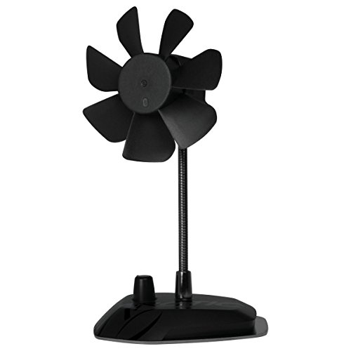 ARCTIC Breeze - USB Desktop Fan with Flexible Neck and Adjustable Fan Speed I Portable Desk Fan for Home