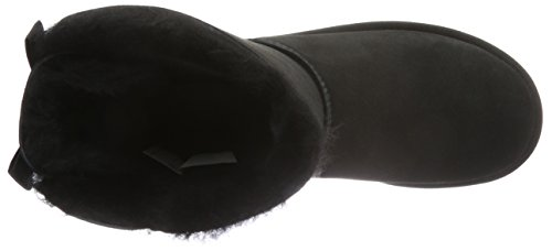 UGG Women's Bailey Bow II Winter Boot, Black, 8 B US by UGG (Image #7)