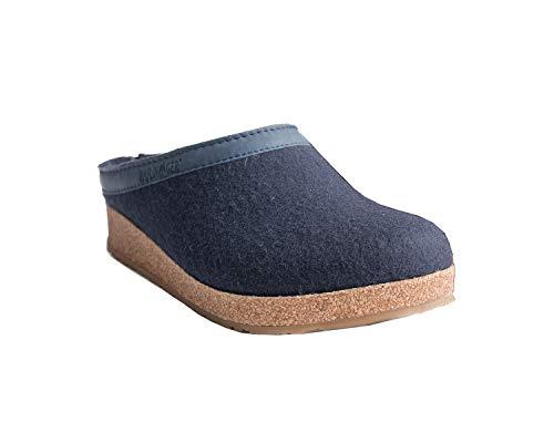 adulto Grizzly Torben Pantofole Unisex Blau Haflinger R7zcfz