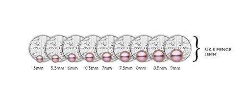 Kimura Pearls - Bracelet - Or blanc - Perle - 46.0 cm - FNS7018-w