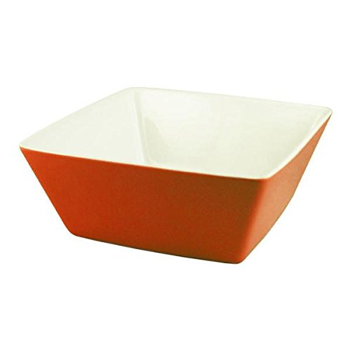 Cardinal R0481 3.5'' Burgundy Square Mix Up Bowl (6.75 Ounces) by Cardinal (Image #1)