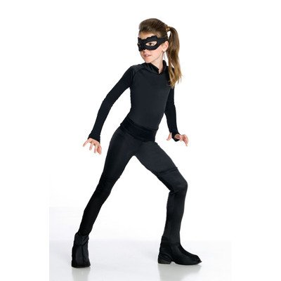 Dark Knight Rises Child Catwoman Costume (Batman Dark Knight Rises H/S Catwoman Child Costume Size: Small)