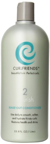 CurlFriends Nourish Rinse Out Conditioner, 33.8-Ounce