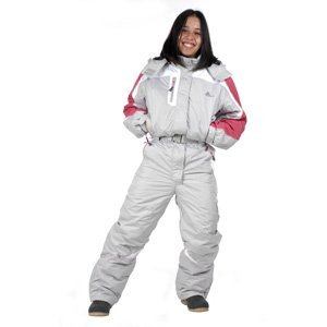 peak mountain women 39 s ski suit agenia grey t4 sports outdoors. Black Bedroom Furniture Sets. Home Design Ideas