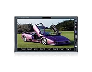 """HJ7005S 7"""" LCD Touch Screen 2 Din Car DVD Media Player with 3D Interface Control USB Bluetooth SD Card TV EMS Shipping"""