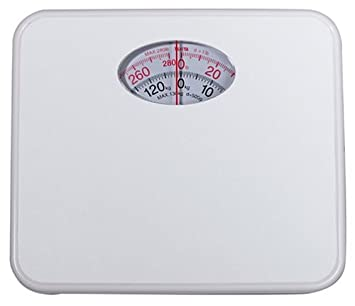 Beau Tanita HA 521 W Analog Bathroom Scale, White