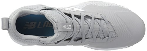 New Balance Mens Freeze V1 Turf Agility Scarpe Da Lacrosse Grigio / Bianco