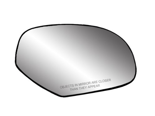 Fit System 30204 Passenger Side Heated Replacement Mirror Glass with Backing - Rh Glass Convex
