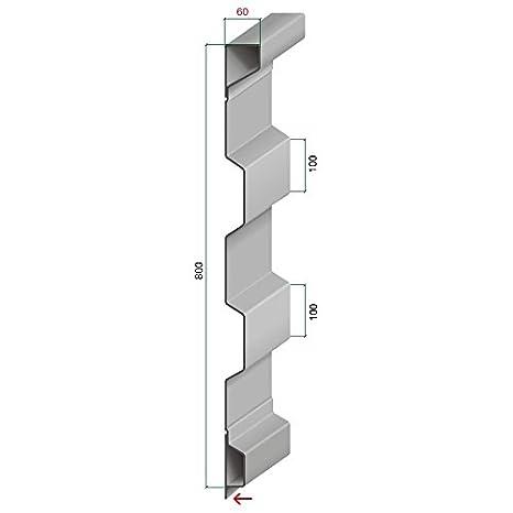 16440 Aufsatzbordwand 2TS 800/60 Blechdicke 2 mm Archus Neumeier GmbH & Co. KG