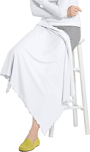 Coolibar UPF 50+ Sun Blanket - Sun Protection (One Size- White) by Coolibar