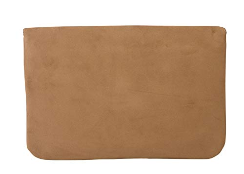 Chicastic Suede Envelope Clutch Purse - Tan/Beige by Chicastic (Image #1)
