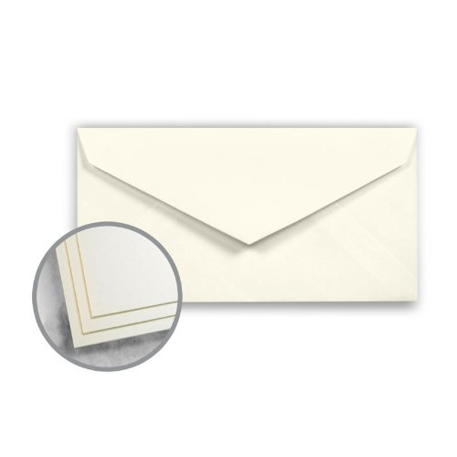 Strathmore Script 24 Lb Writing - Strathmore Script Natural White Envelopes - Monarch (3 7/8 x 7 1/2) 24 lb Writing Smooth 30% Recycled Watermarked 500 per Box