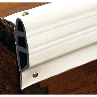 - Taylor 46096 Dock ProTM Medium Small Edge Gard White Double Molded Vinyl Dock Edging 10ft Coil