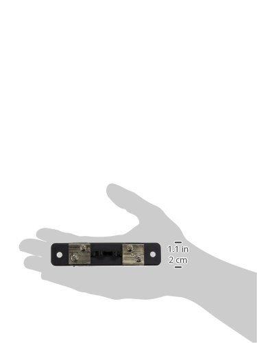 eDealMax DC 75mV Corriente 10 Resistencia de derivación para Medidores de panel del amperímetro FL-2