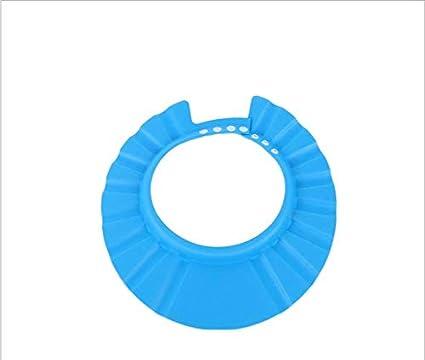 Bonnet de douche de protection de l'environnement impermé able bonnet de douche pour enfants Jaune SANDIN