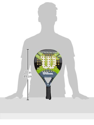 Wilson Carbon Force - Raqueta, color negro/gris/verde, talla 2: Amazon.es: Deportes y aire libre