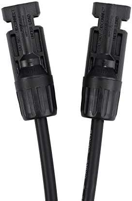 LiNKFOR 1 Paar MC4 Stecker Buchse Y Verteiler Solarstecker Solar MC4 Photovoltaik Kabel Steckverbinder für Solarpanel