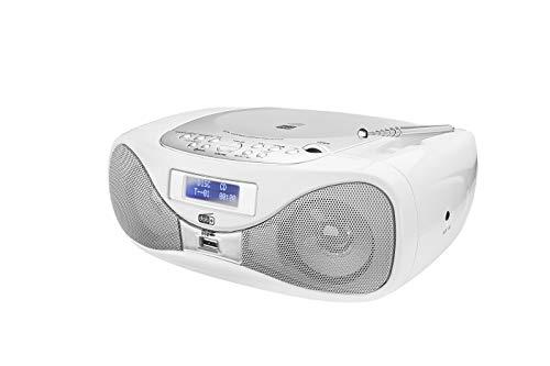 Radio met CD • Digitale radio • FM-radio • Boombox • CD-speler • Stereo luidspreker • AUX-ingang • USB-aansluiting • Net…