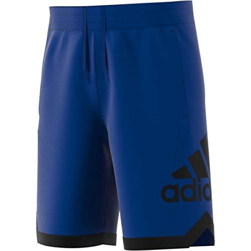Adidas Casual Shorts - adidas Men's Badge of Sport Basketball Shorts, Collegiate Royal, 3X-Large