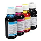 4 x 100ml Universal Refill Ink Bottles for HP, Brother, Lexmark, Samsung, Epson, Canon, Xerox, Kodak, Dell, Advent