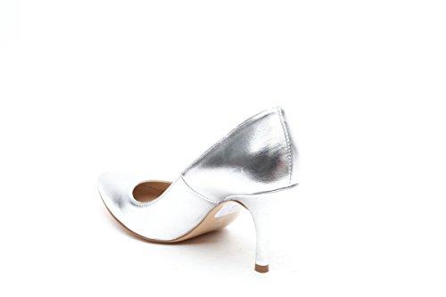 Scarpe italiane decollete argento