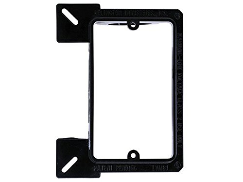 Monoprice 107062 Low Voltage Mounting Bracket for New Construction, 1-Gang (2 Pack) by Monoprice (Image #1)