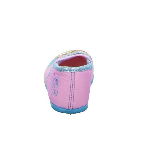 Disney Frozen A15W1752 Mädchen Hausschuh Kaltfutter Rot (Pink)