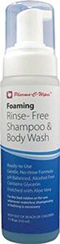 Alimed Pharma-C-Wipes Foaming Shampoo and Body Wash No-Rinse 7.1 oz (Case of 6)
