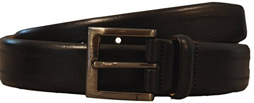 - Kirkland Signature - Italian Leather - Full-Grain Leather Belt (36)