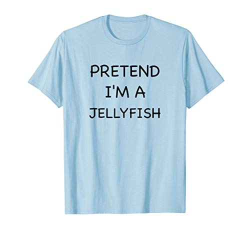 Lazy Jellyfish Shirt Funny Easy Halloween Costume Animal -