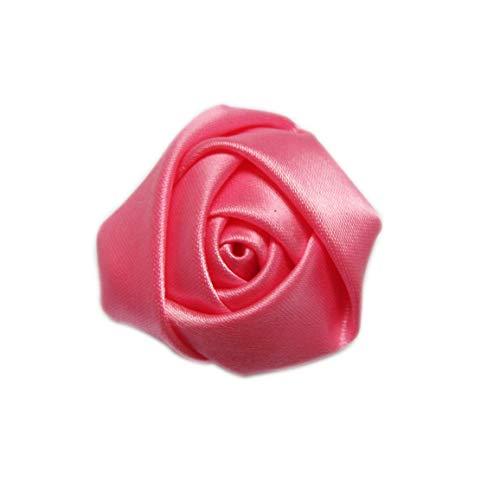 - XiXiboutique 20pcs Satin Rose Flower Bouquet Brides Maid Wedding Flowers 2