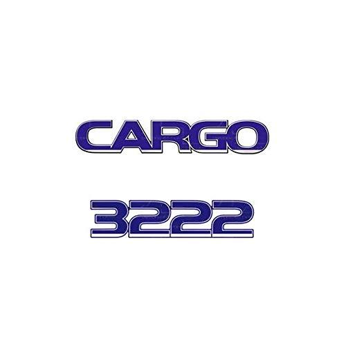 Emblema Adesivo Ford Cargo 3222 Kit