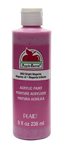 Apple Barrel Acrylic Paint in Assorted Colors (8 oz), K2602 Bright Magenta
