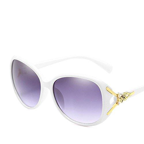 Aoligei Mesdames lunettes de soleil Europe et États-Unis grand cadre tendance lunettes de soleil universel Elegant résistant aux uv ijX6NbLnQT