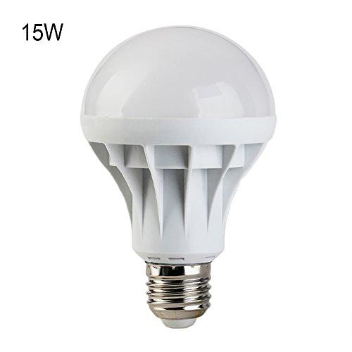 E27 Globe Bulb LED Light High Bright Light Lamp 5730 SMD lampadas Bombillas Headlight(15W)