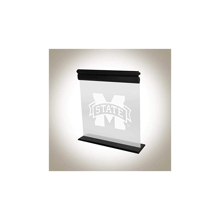 MISSISSIPPI STATE BULLDOGS ACRYLIC LED LIGHT DISPLAY MAN CAVE OFFICE